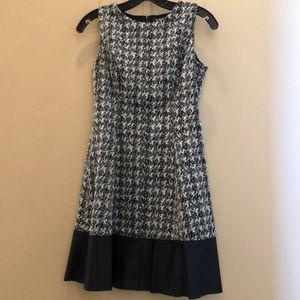 Ralph Lauren black and white dress